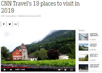 CNN Travel's 19 places