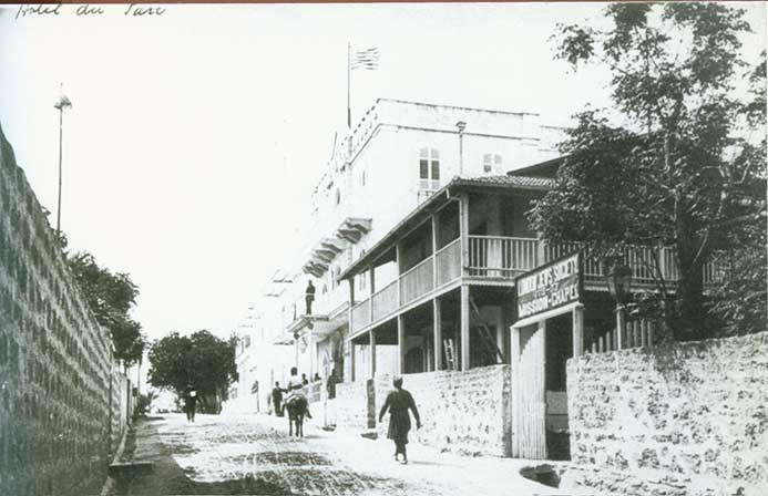 מלון ירושלים ורחוב אוארבך