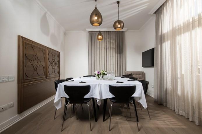 חדר ישיבות- מלון דריסקו