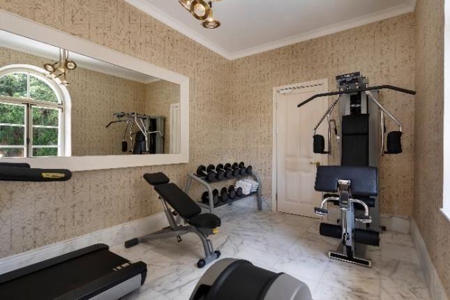חדר כושר במלון דריסקו