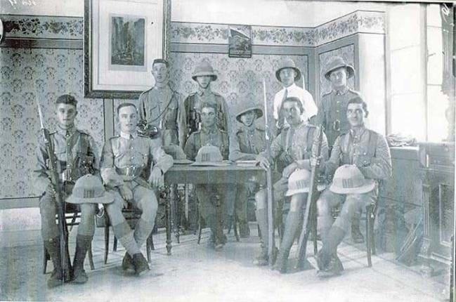 הלובי הראשי במלון ירושלים  1929, קרדיט: צבי אורון