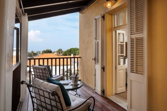 מרפסת חדר דלאקס מלון דריסקו