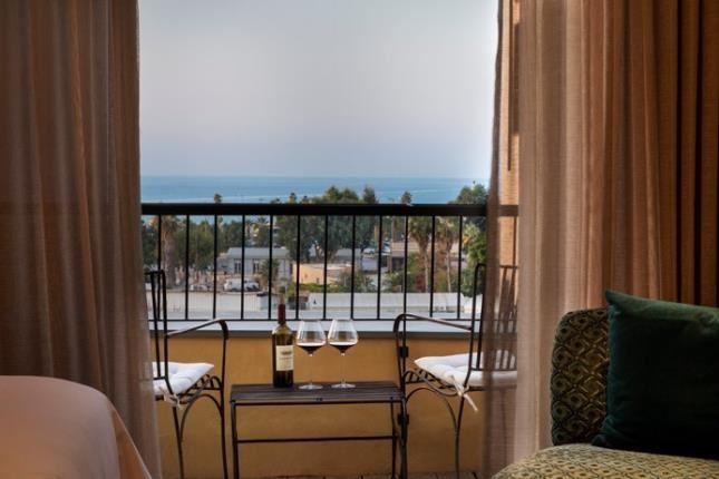 מרפסת חדר מלון דריסקו